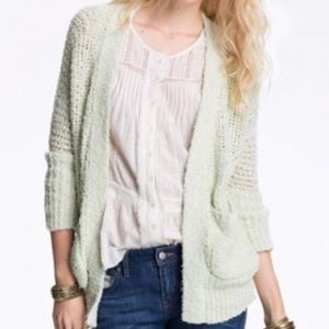 Free People Knit Open Front Cardigan